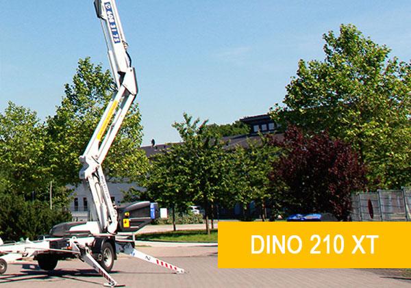 Anhänger-Arbeitsbühne Hamburg Dino 210 XT