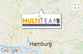 Arbeitsbühne mieten Hamburg - Route planen