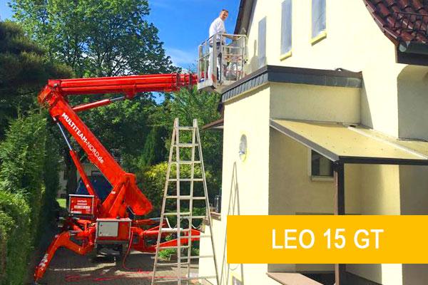Kettenarbeitsbühne LEO 15 GT