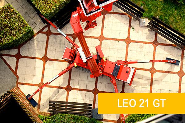 Kettenarbeitsbühne LEO 21 GT