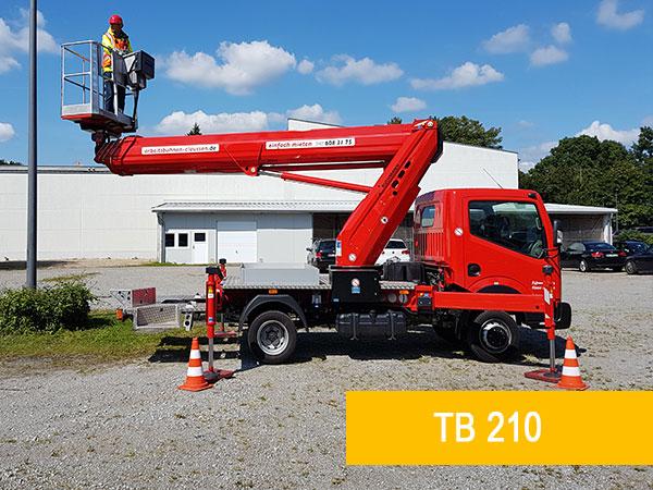 LKW-Arbeitsbühne Hamburg Ruthmann Steiger TB 210
